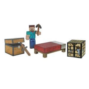 Jazwares Jeu de construction Minecraft : kit de survie