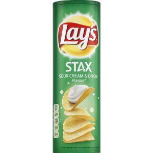 Lay's Stax sour cream & onion - Le paquet de 170g