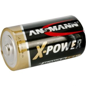 Ansmann Lot de 20 piles alcalines X-Power, 1,5V, format LR20/D