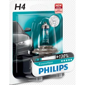 Philips 1 Ampoule H4 X-tremeVision 55 W 12 V