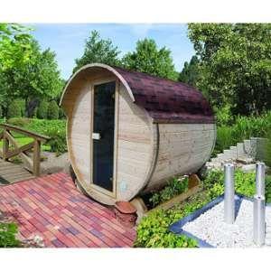 Karibu Sauna vapeur extérieur - Baril 1 - Sans poêle