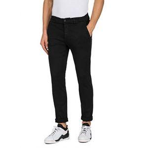 REPLAY Pantalons M9627l L34 - Black - W34-L34