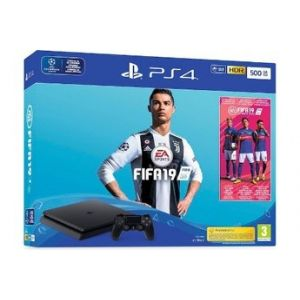 Sony PlayStation 4 Slim 500Go Black + Fifa19