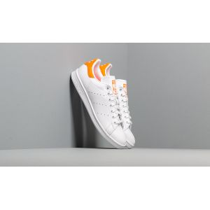 Adidas Stan Smith W, Chaussures de Gymnastique Femme, Blanc Solar Orange/FTWR White, 37 1/3 EU