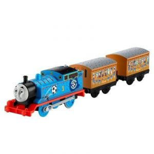 Fisher-Price Train Motorisé Thomas & Friends : Thomas Bleu