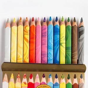Koh-I-Noor MAGIC Jumbo Crayon de Couleur Triangulaire (Lot de 13)