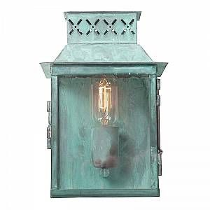 Elstead Applique Murale Lambeth 1x100W - Vert-de-Gris - LIGHTING - lambethpalacev