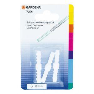 Gardena Raccord tuyau pour tuyaux de 6 mm 7291-20