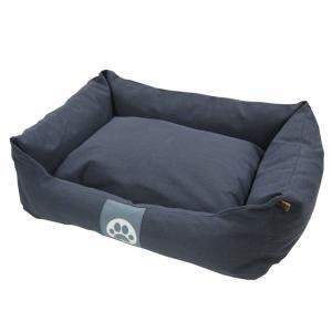 Overseas Lit pour chiens 70 x 60 20 cm Toile Bleu marine