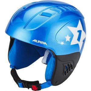 Alpina Carat - Casque de ski - bleu 48-52cm Casques ski & snowboard