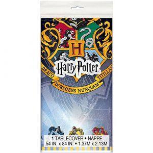 Unique Party Nappe en plastique Harry Potter 137 x 213 cm Taille Unique