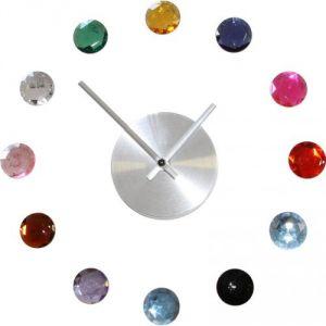 Diamants - Horloge murale inspirée Karlsson