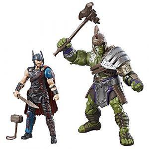 Hasbro Marvel Legends Series : Thor et Hulk - Figurines The Mighty Thor