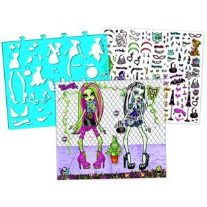 Taldec Carnet d'esquisses Monster High (grand format)