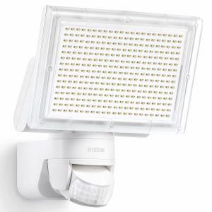 """Steinel Projecteur LED IP44 avec capteur """"XLED Home 3"""" blanc"""