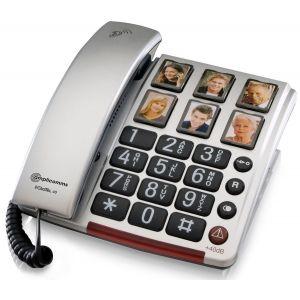 Amplicomms BigTel 40 Plus - Téléphone filaire grosses touches