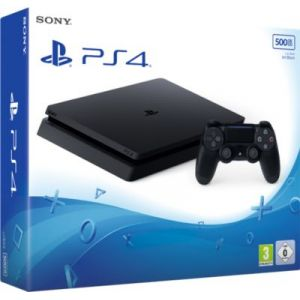 Sony PlayStation 4 Slim 500 Go + Qui es-tu ?