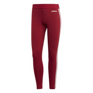 Adidas Collant Essentials 3 bandes Rouge / Blanc - Taille L