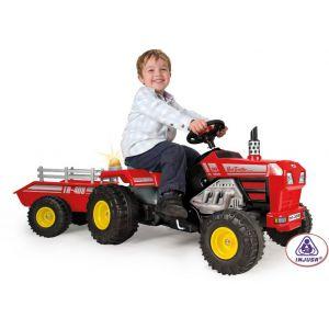 Injusa Tracteur à Pédales - Tracteur Super Trac