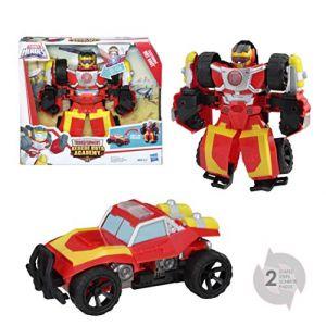 Hasbro Figurine électronique - Transformers Rescue Bots - Robot Hot Shot électronique