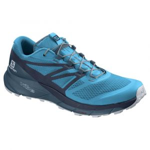 Salomon Chaussures Sense Ride 2 - Hawaiian Ocean / Navy Blazer / Mallard Blue - Taille EU 46