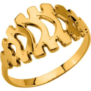 Kenzo 70175370100 - Bague pour femme en plaqué or