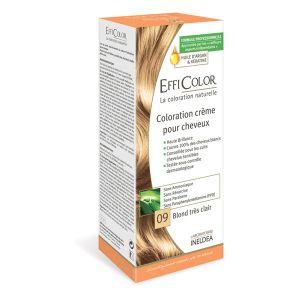 EffiColor Blond Très Clair N°09 - Coloration crème pour cheveux
