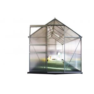 Chalet et Jardin Serre polycarbonate diamant - 7,2 m2