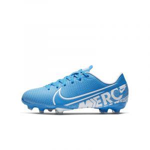 Nike Chaussure de football multi-surfacesà crampons Jr. Mercurial Vapor 13 Academy MG pour Enfant - Bleu - Taille 38.5 - Unisex