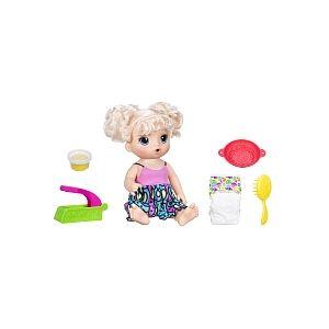 Hasbro Baby Alive Miam Miam Les Bonnes Pâtes (blonde)