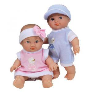 WDK Partner Poupons jumeaux 23 cm