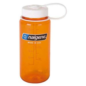 Image de Nalgene Bouteilles Wide Mouth Bottle 500ml - Orange / Loop-Top White - Taille One Size