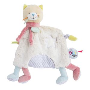 Doudou & cie Peluche Papatte chat tatoo