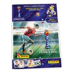 Panini 1 Album + 3 Pochettes Coupe du Monde FÉMININE DE LA FIFA, France 2019, 2507-014