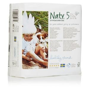 Naty Couches Naty taille 5 (11-25 kg) - paquet de 23