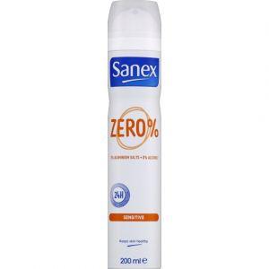 Sanex Zero% Peaux Sensibles Déodorant Spray