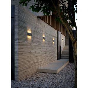 Nordlux Applique murale extérieur KINVER-Applique murale d'extérieur LED L26cm Noir
