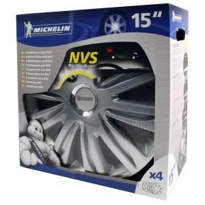"Michelin NVS 42 - 4 enjoliveurs 15 pouces ""Night Vision Security"""