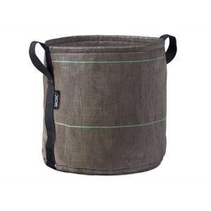 Bacsac Pot rond 25L à anses en tissu géotextile Ø32 x 32 cm