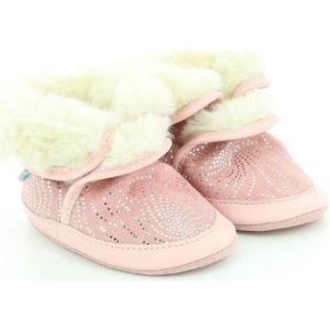 Robeez COSYBOOT, Chaussures de Naissance Mixte bébé, (Rose Clair 131), 21/22 EU