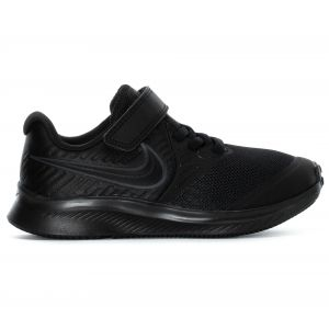 Nike Star Runner 2 Baskets Garçon Noir