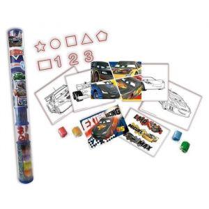 Simba Toys Tube d'activités créatives Cars Carbon