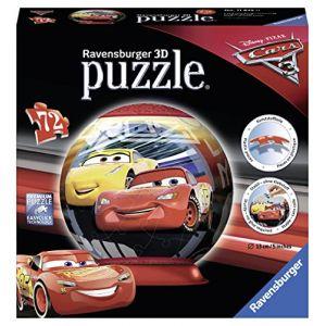 Ravensburger Cars 3 - Puzzle ball 72 pièces