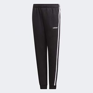 Adidas Essentials 3-Stripes Pantalon Garçon, Noir/Blanc, FR : L (Taille Fabricant : 152)