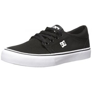 DC Shoes Trase TX, Baskets Mode Homme, Noir (Black/White), 43