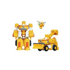 Auldey Super Wings - Mini véhicule transformable - Donnie