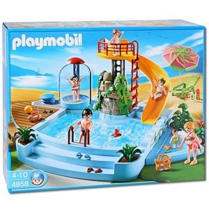 Playmobil piscine comparer 18 offres for Piscine playmobil 3205