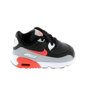 Nike Basket mode sneaker air max 90 lea bb gris rouge 22