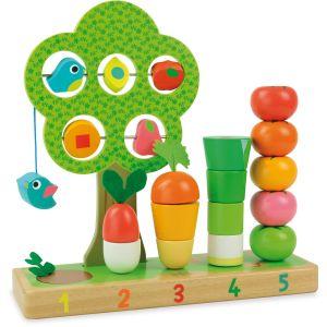 Vilac 2469 - J'apprends à compter les fruits & légumes