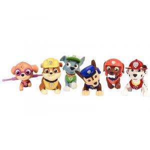Spin Master Pack de 6 figurines Pat' Patrouille
